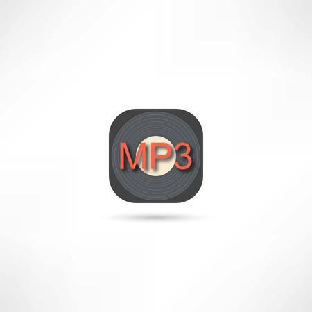 MP3 디스크 아이콘
