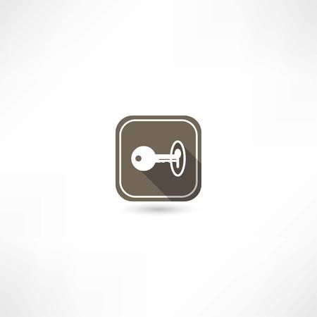 ignition: key icon