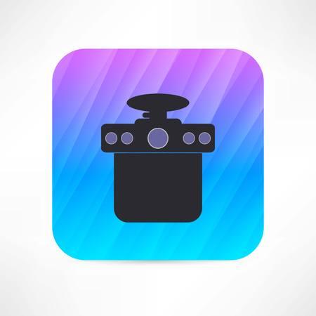 香水アイコンのボトル  イラスト・ベクター素材