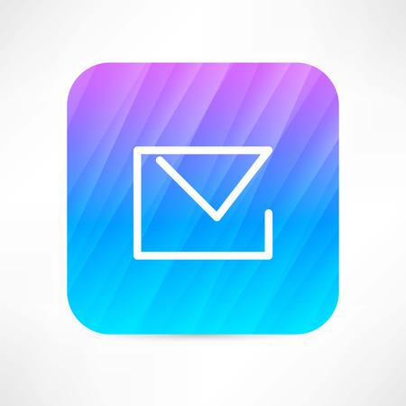 envelop icon Illustration