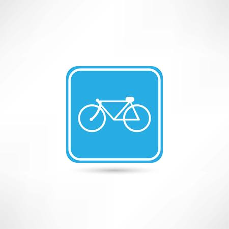bicycle icon Illustration