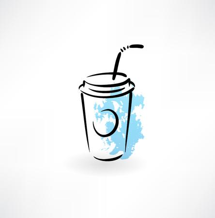 fizz: drink grunge icon