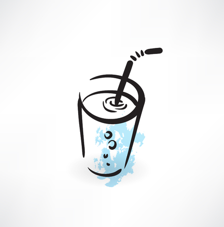 drink grunge icon Vector