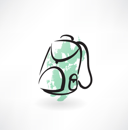 backpack grunge icon
