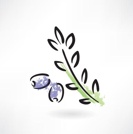 olive green: olive grunge icon