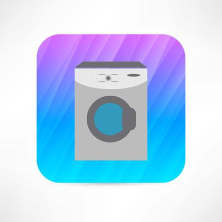 washing machine icon Stock Illustratie
