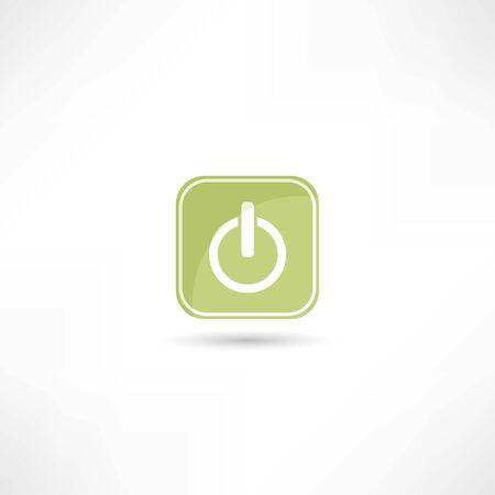 off button icon Vectores