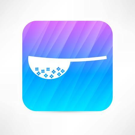 colander icon 向量圖像