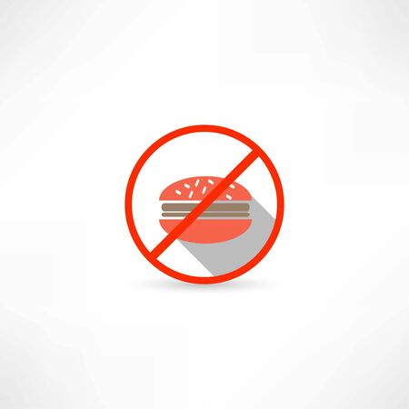 no fast food icon Vector