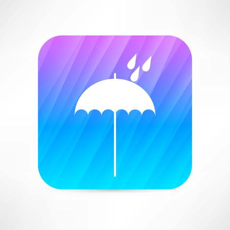 drizzle: umbrella icon