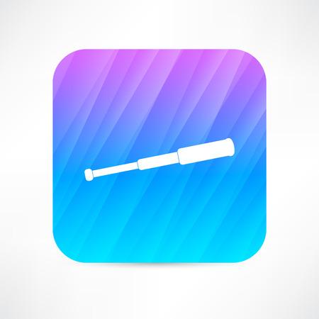 spyglass icon Vector