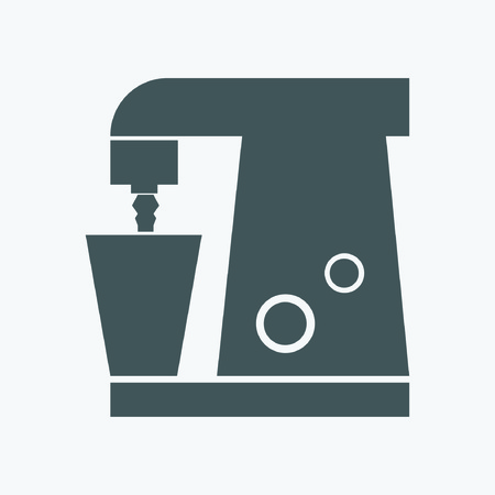 food processor: Food Processor Icon Illustration