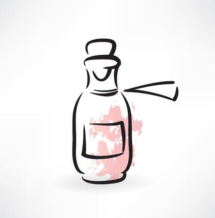 jar of medicine grunge icon