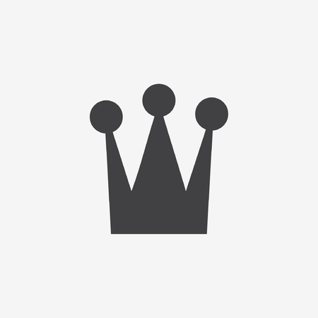 snob: crown icon Illustration