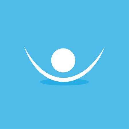 closet communication: human symbol icon