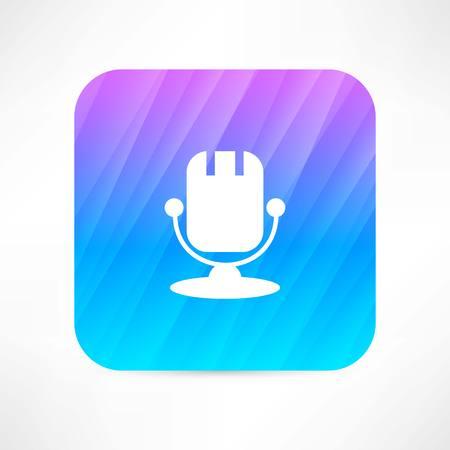 entertaining presentation: microphone icon