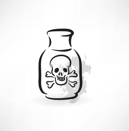 poison grunge icon