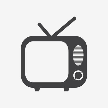 tvset: TV vector icon