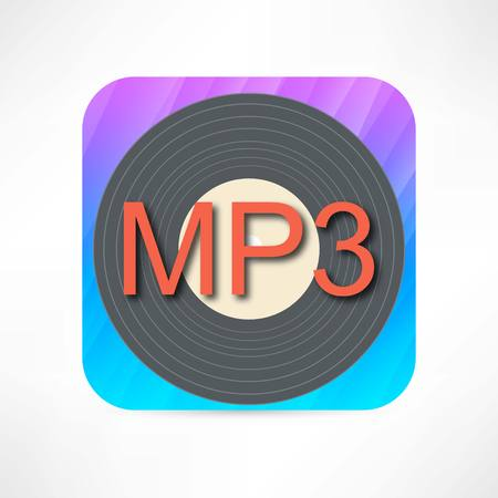 mp3 disk icon