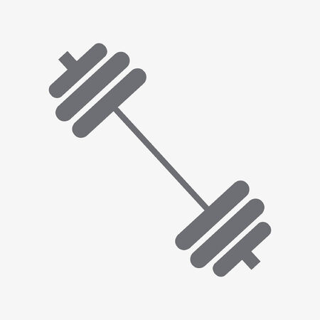 Athletics fitness icon Illustration