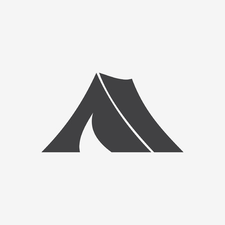 yellow roof: tent icon