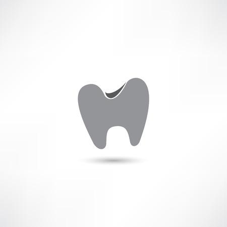 comunicacion oral: icono de los dientes Vectores