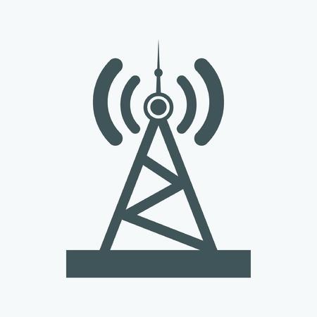radio wave: Transmitter icon