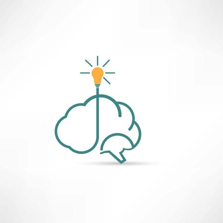 electric brain icon