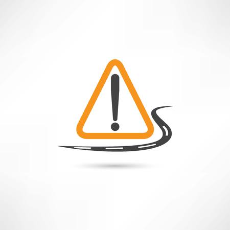 warning triangle icon Vector