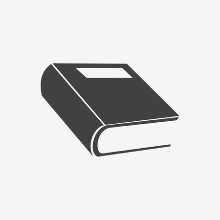 literature: book icon Illustration