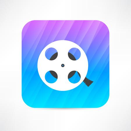 film industry: film reel icon