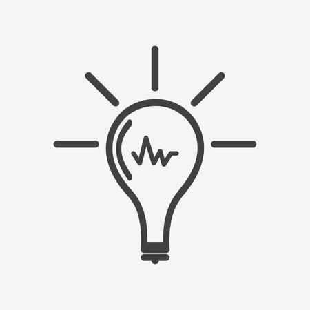 intensity: Web icons: lamp