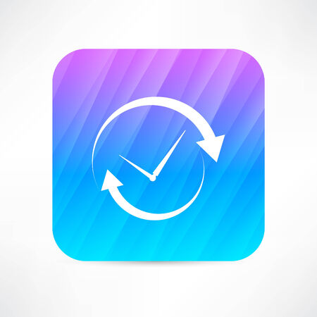 refreshed: update time icon Illustration