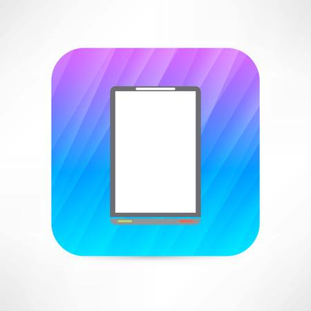 digitizer: office tablet Illustration