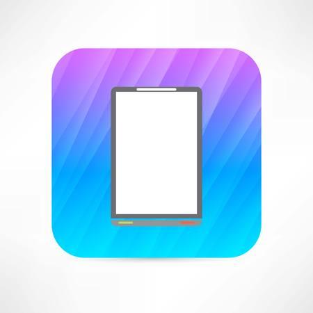 digitized: tableta oficina Vectores