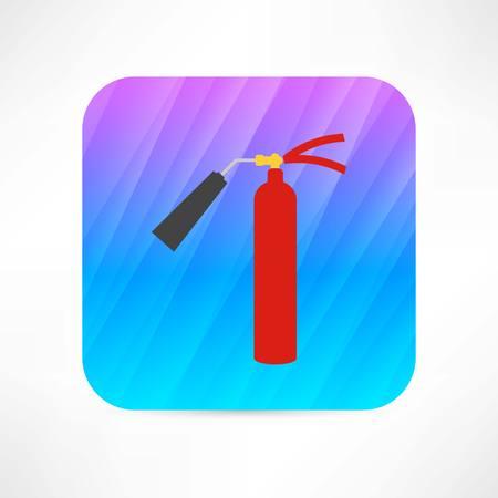 foam safe: fire extinguisher icon