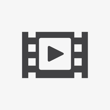 pause button: Vector video player Illustration