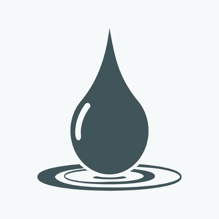 reflection of life: Drop Icon