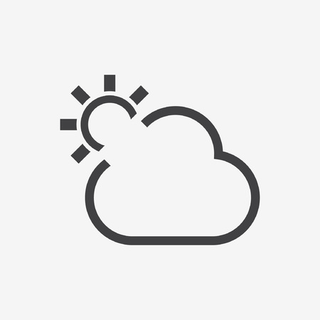 day forecast: cloud sun icon