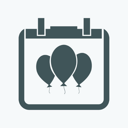 moving activity: balloon icon