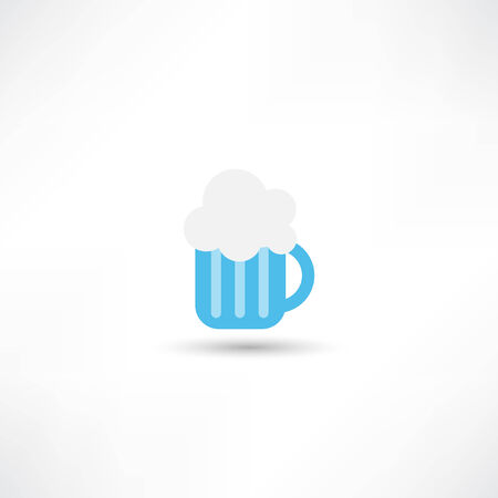 cereal bar: Beer icon Illustration