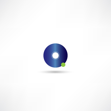 cd recorder: disk icon