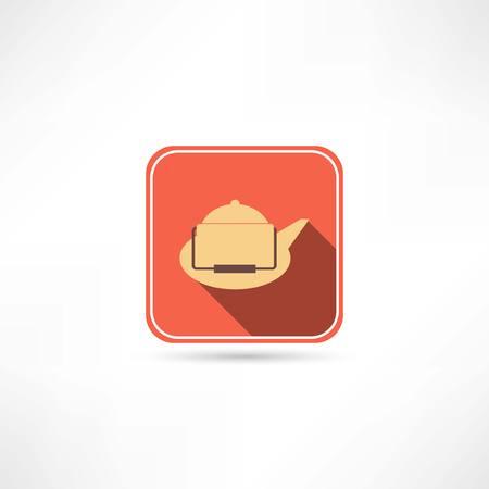 boiling pot: kettle icon