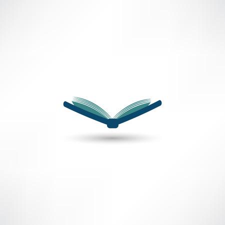 Buch-Symbol Standard-Bild - 32204519