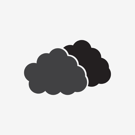 dripped: cloud icon Illustration