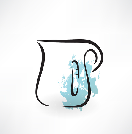 pitcher grunge icon