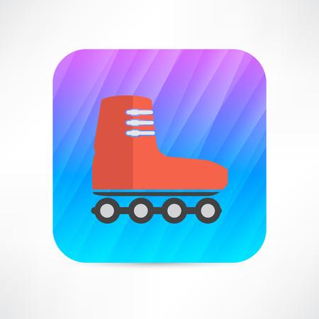 rollerskates: roller-skates icon