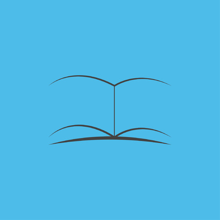 old diary: book icon Illustration