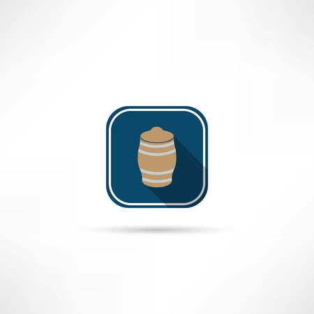 barrel icon Иллюстрация