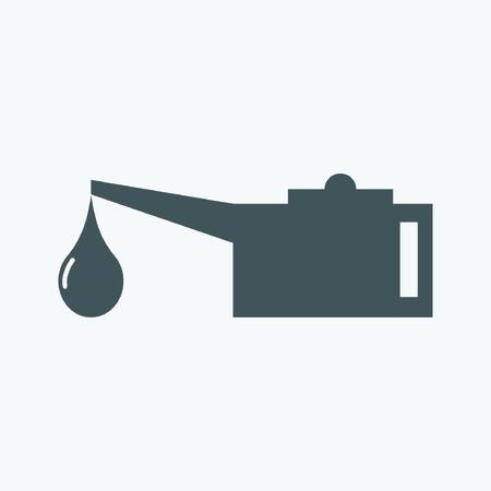 lubricator: Oil lubricator icon